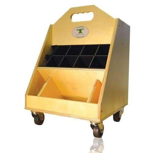 Green anvil tool box